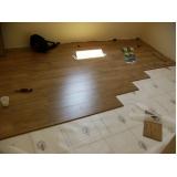 piso laminado instalação preços Trindade do Sul
